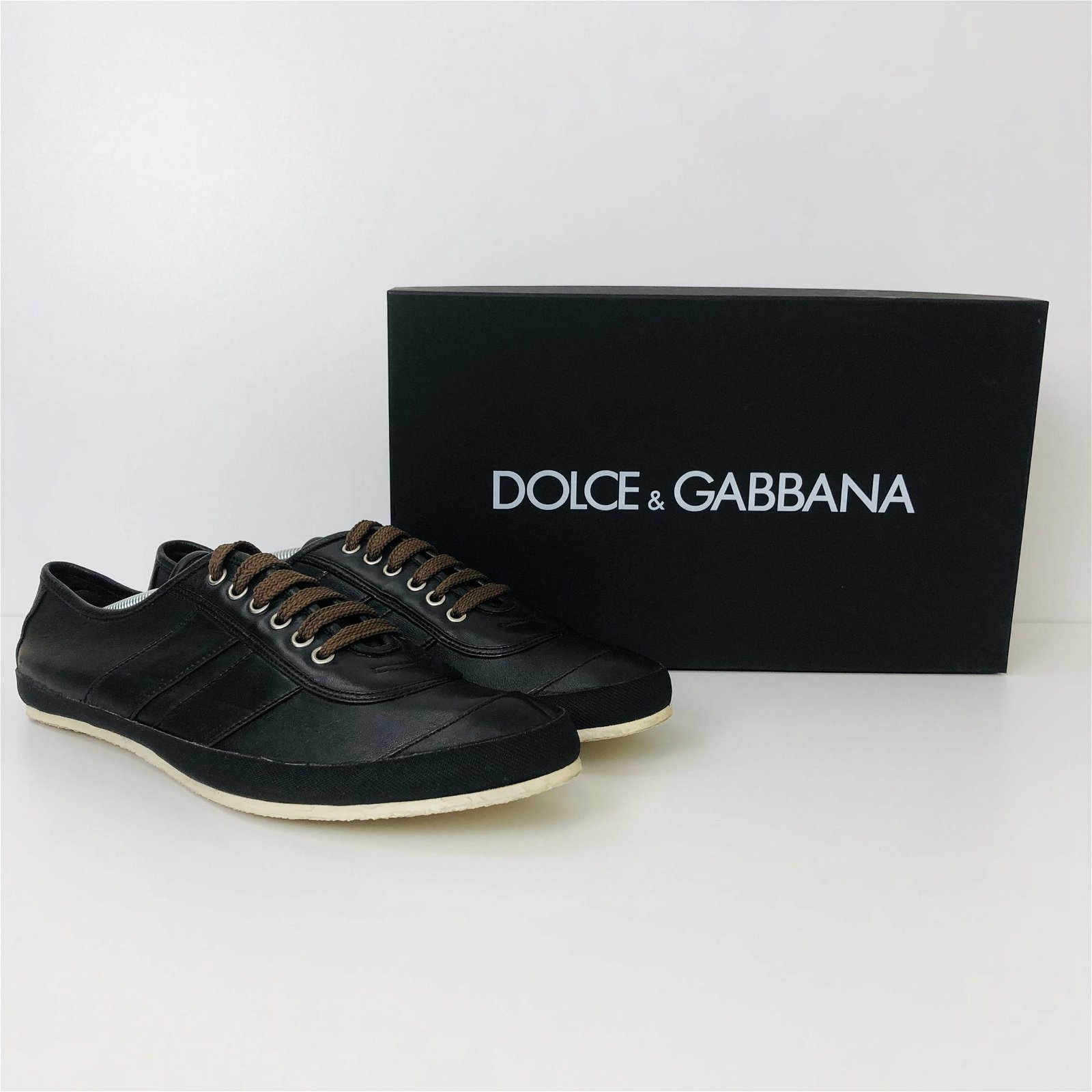 Men's Dolce & Gabbana Leather Sneakers US 11