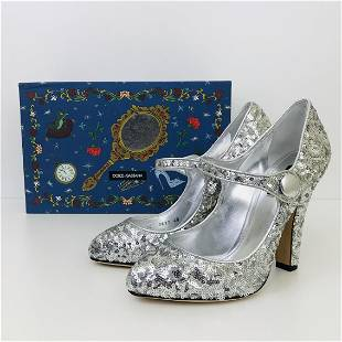 Ladies New Authentic Dolce Gabbana High Heel Shoes