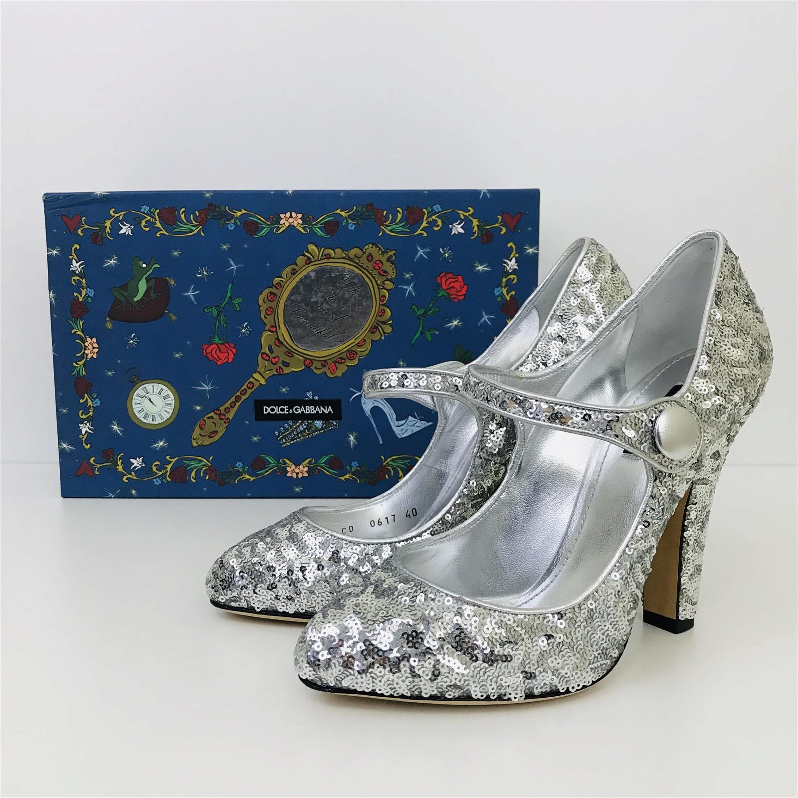 Ladies New Authentic Dolce & Gabbana High Heel Shoes