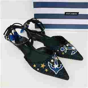 Ladies New Authentic Dolce Gabbana Sandals