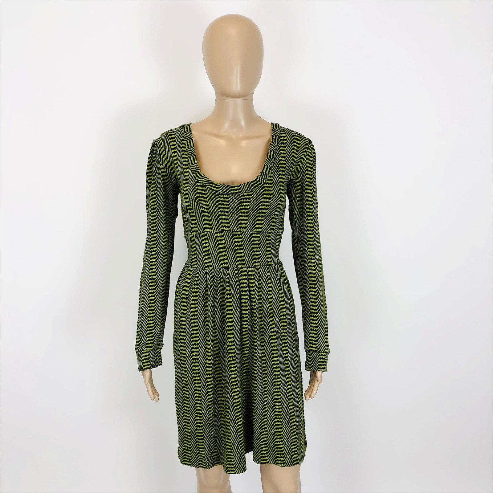 Women's Green Casual Dress Size US 12