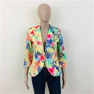 Womens Colorful Jacket Blazer