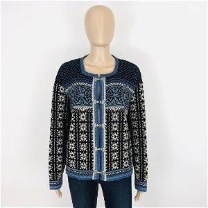 Women's Skjaeveland Norwegian Wool Sweater Cardigan