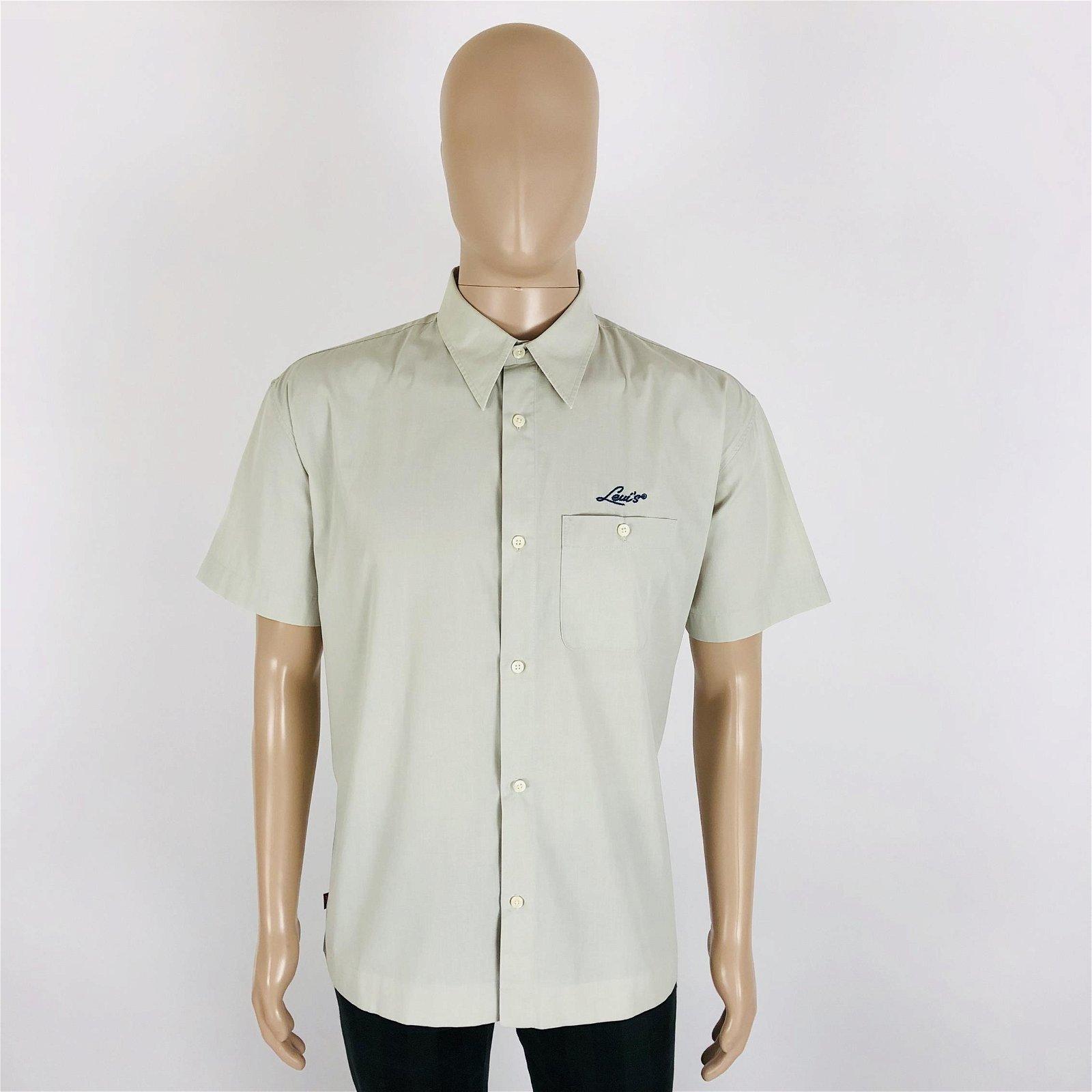 Vintage Men's Levi's Short Sleeve Shirt Size L