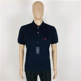 Ralph Lauren Men Navy Blue Polo Shirt Size M