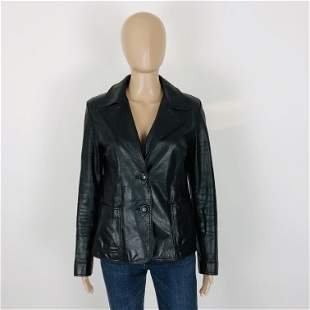 Women's NOW Real Leather Jacket Size US 6