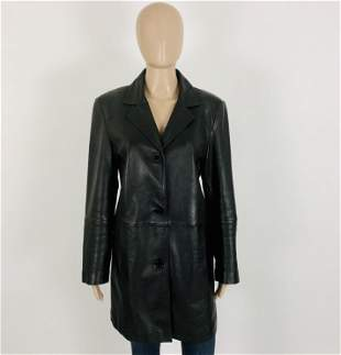 Vintage Women's TCM Real Leather Jacket EUR 42 US 12