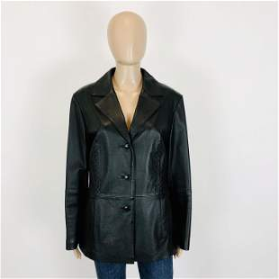 Women's Real Leather Jacket Size US 10