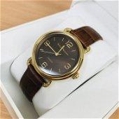 Serene Marceau Diamond Ladies Gold Plated Watch