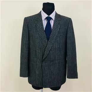 Vintage Men's Wool Blazer Jacket