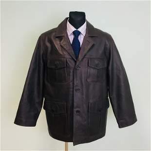 Men's Jack & Jones Leather Jacket