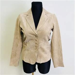 Vintage Women's Suede Leather Jacket