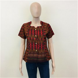 Vintage Women's Handmade Blouse Shirt Top