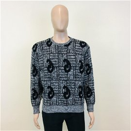 Vintage Men's Stylish Crew Neck Sweater