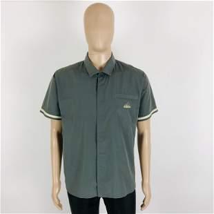 Vintage Men's Adidas Short Sleeve Shirt Size S