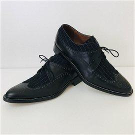 Dolce & Gabbana Black Classic Derby Shoes US 11