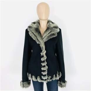 Women's Faux Fur Jacket Size M