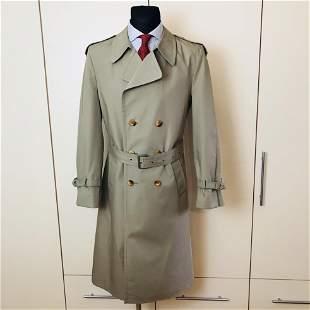 Vintage Men's Trench Coat Size US 42 EUR 52