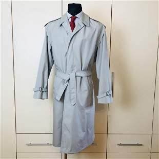Vintage Men's Grey Trench Coat Size US 42 / EUR 52