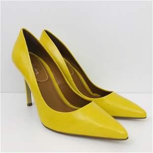 New Women's Pierre Cardin Leather High Heel Shoes US