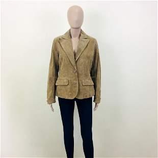 Women's Livelo Attitude Suede Leather Jacket