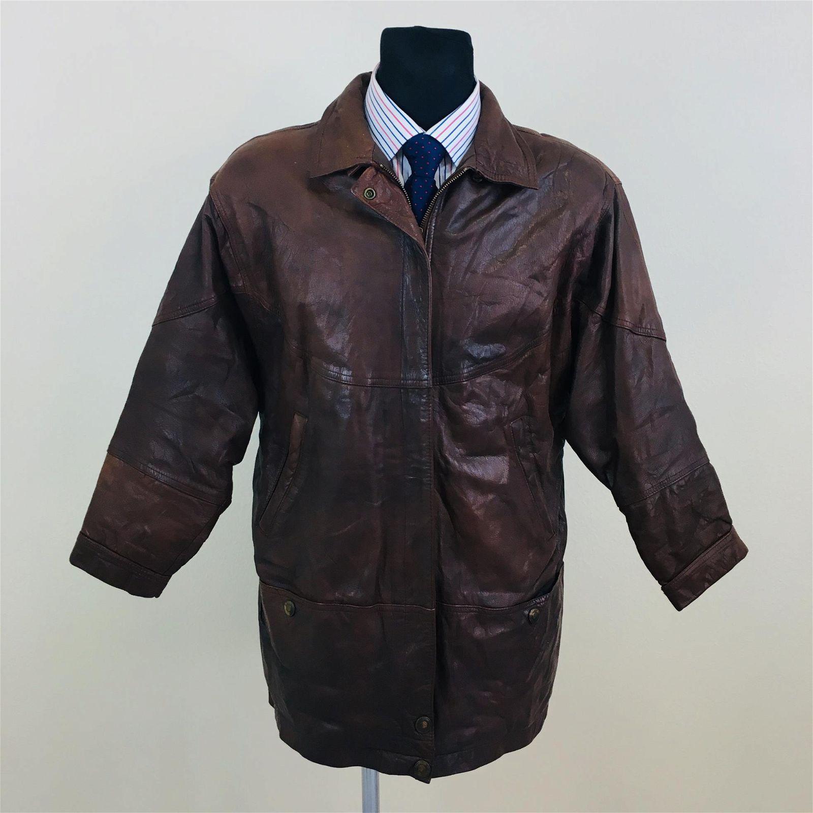 Vintage Men's Dennis Designer Leather Jacket
