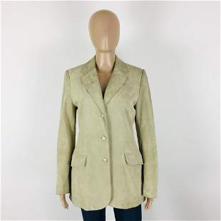 Women's Marc Aurel Suede Leather Jacket Coat