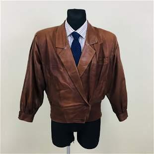 Vintage Men's CAPITOL Leather Jacket