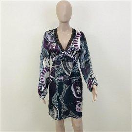 Women's BANDOLERA Designer Dress
