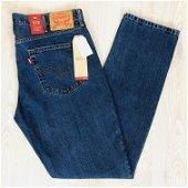 Men's Levi's 513 Brand New Blue Jeans W38 L34