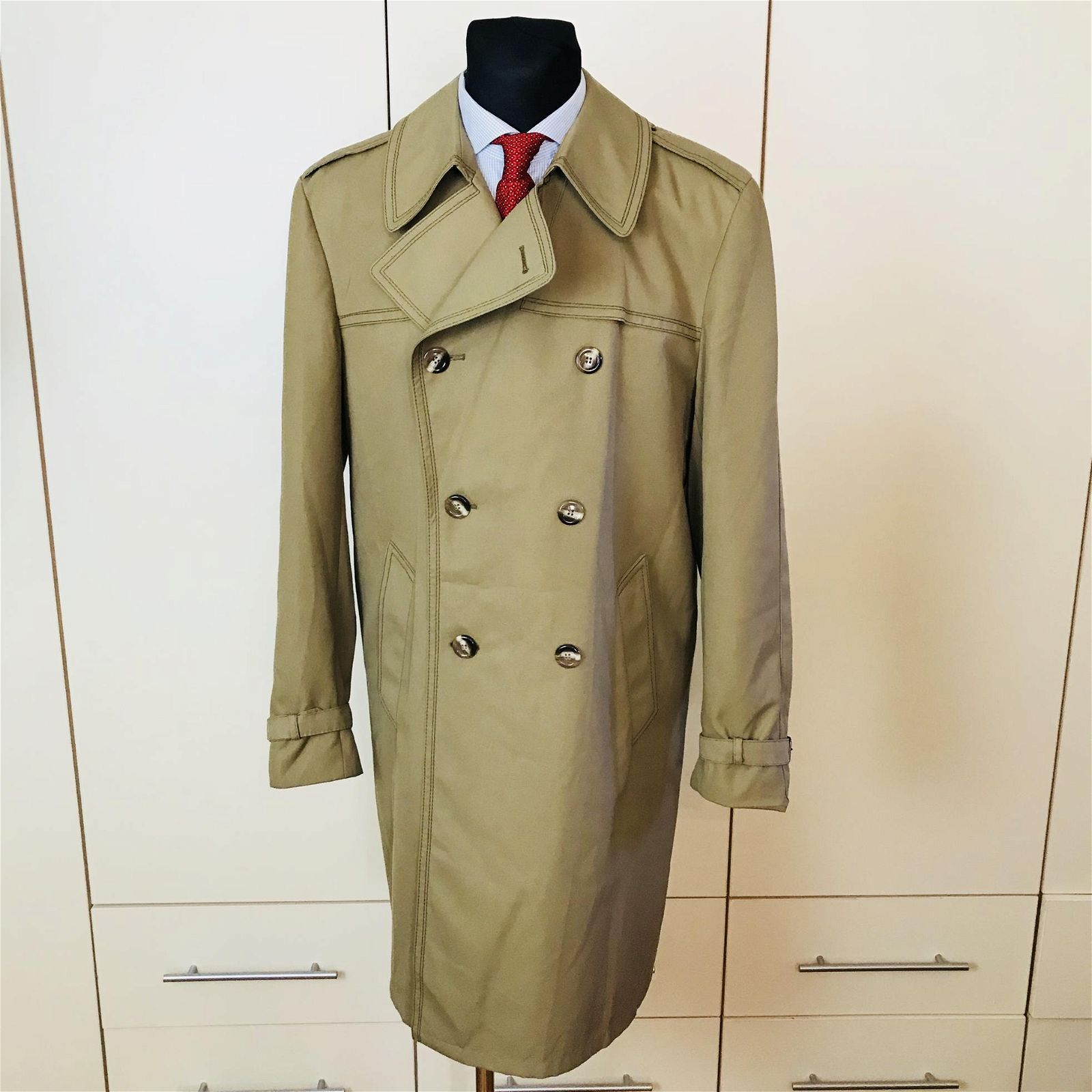 Vintage Men's Trench Coat Size US 40 / EUR 50