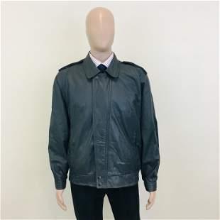 Vintage Men's Mark Astor Leather Jacket
