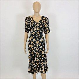 Vintage Women's Vilona Moda Summer Dress L