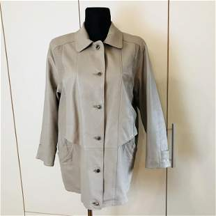 Vintage Women's Leather Jacket Coat