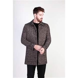 New Men's Italian Wool Blend Coat US 42