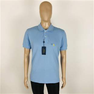Ralph Lauren Men Blue Polo Shirt Size L