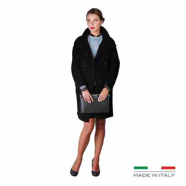New Women's Fontana 2.0 Wool Coat Size US 10