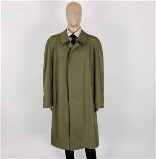 Men's Valmeline German Designer Trench Coat XL