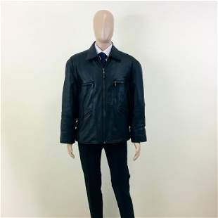 Vintage Men's Real Leather Jacket