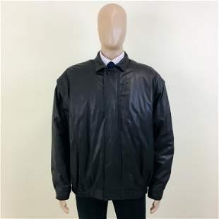 Vintage Men's Halonen Real Leather Jacket