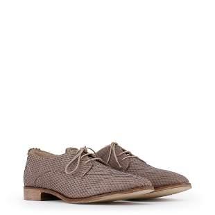 New Women's Arnaldo Toscani Laced Leather Shoes US 9.5