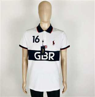 Ralph Lauren Men GBR Polo Shirt Size L
