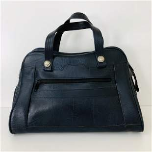 Vintage Unisex Leather Travel Bag
