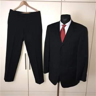 Men's Van Gils 100% Virgin Wool Suit Costume Size 40 US