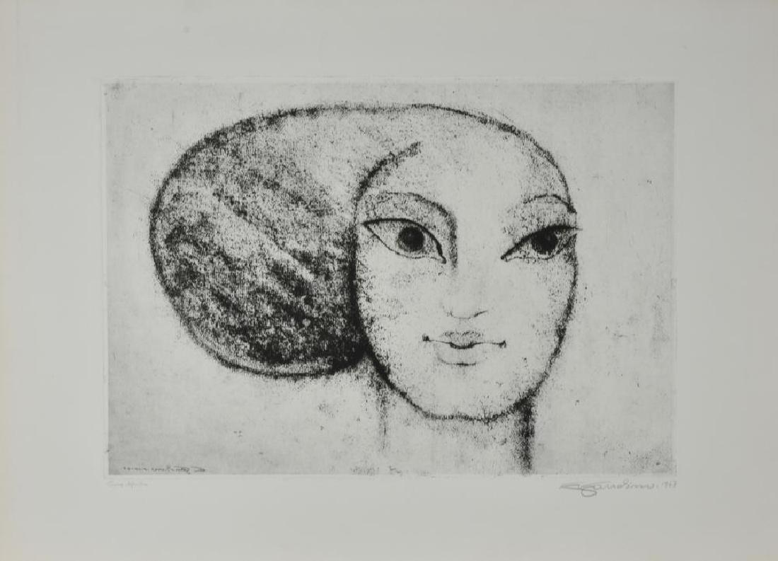 Enrico Gaudino SENZA TITOLO incisione su carta, cm