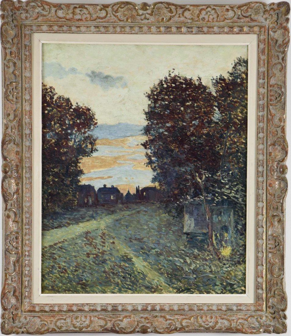 Albert GLEIZES (French 1881-1953)oil on canvas, 1902