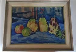 Vaclav Spala (Czechoslovakian, 1885–1946) Oil on Canvas