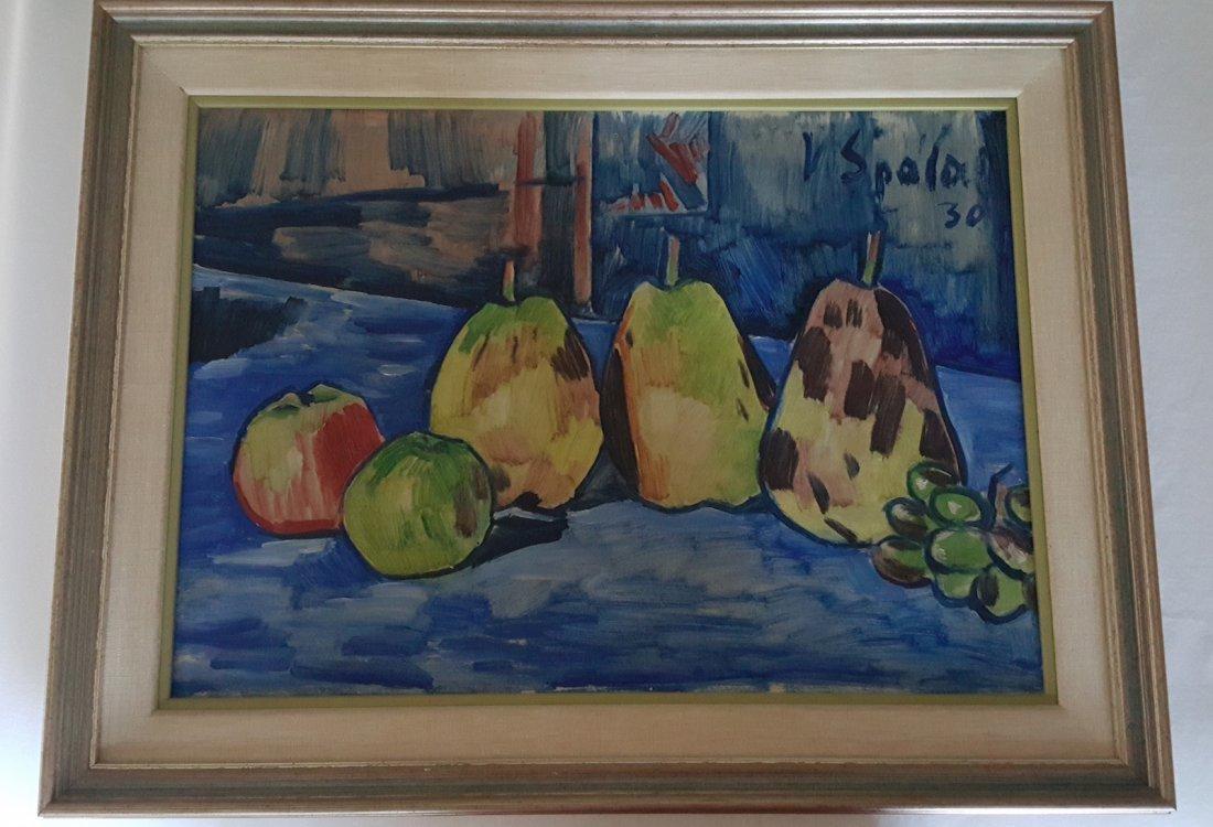 Vaclav Spala(Czechoslovakian, 1885–1946) Oil on Canvas