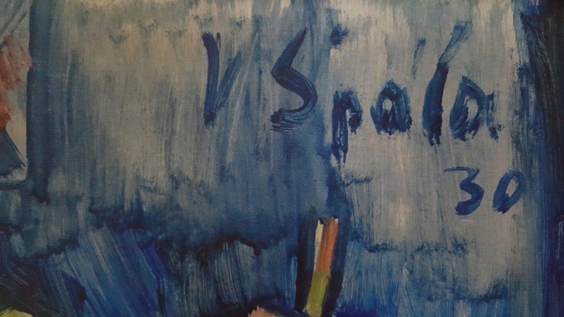 Vaclav Spala(Czechoslovakian, 1885–1946) Oil on Canvas - 2