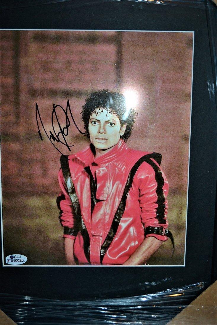 Michael Jackson Autograph Thriller Photo. Jackson 5